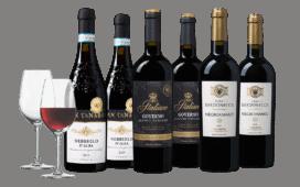 Wijnpakket Rode Italiaanse meesterwerken